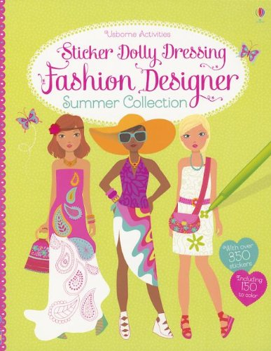 Sticker Dolly Dressing Fashion Designer Summer Collection - Les Dollies Fashion