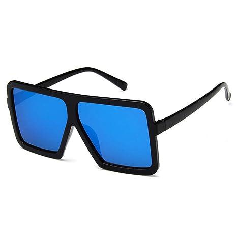 Yangjing-hl Gafas de Sol cuadradas de Caja Grande de Moda ...