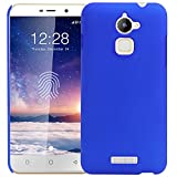 Dashmesh shopping Rubberised Matte Hard Case Back Cover For Coolpad Note 3/ Note 3 PLUS - Blue