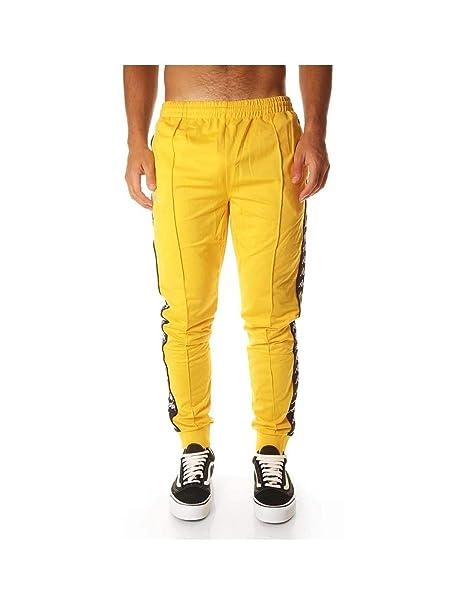 Kappa Pantalon RASTORIA Slim Amarillo Hombre  Amazon.es  Ropa y accesorios c9b6e315c1842