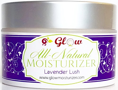 GLOW Moisturizer Collection - Luxurious Body Butter - Natural Skin Moisturizer - Organic Coconut Oil and Shea Butter fused with Essential Oils (Lavender - Body Cream Luxurious