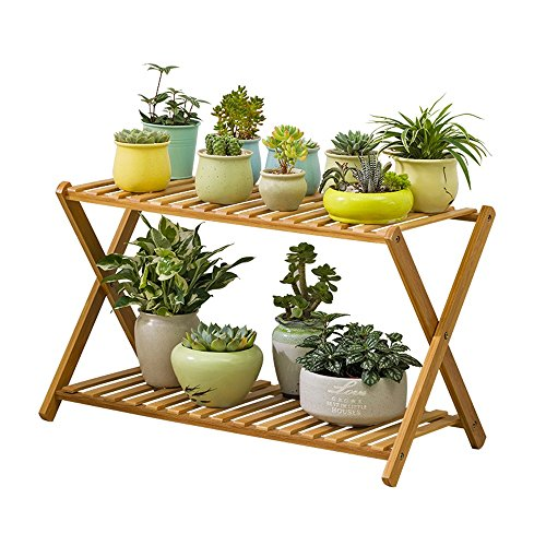 flower stand flower pot stand - Flower Stand Balcony, Flower Stand, Living Room, Solid Wood, Floor, Multi-layer Flower Shelf, Indoor Pot Rack, Multi-function Wooden Frame by Hyun times Flower stand