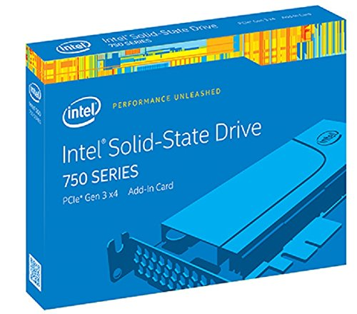 Intel SSD 750 Series PCIe AIC 1.2TB Internal SSD SSDPEDMW012T4R5 by Intel