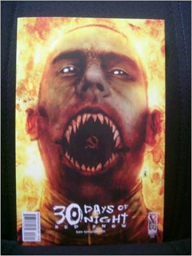 30 Days Of Night Red Snow 3 Ben Templesmith Amazon Books
