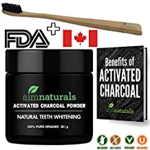 Best Natural Teeth Whitening Activated Charcoal Powder In Bulk (50g) + FREE Bamboo Toothbrush + FREE Benefits of Activated Charcoal eBook Value Pack | Premium Raw 100% Pure Natural Organic Coconut Charcoal Powder LARGE| 100% Pure Food Grade, No Artificial Flavors or Hardwood Used - Better Alternative Than Bleach Brighten, Teeth Whitening Strips, Kits and Toothpaste