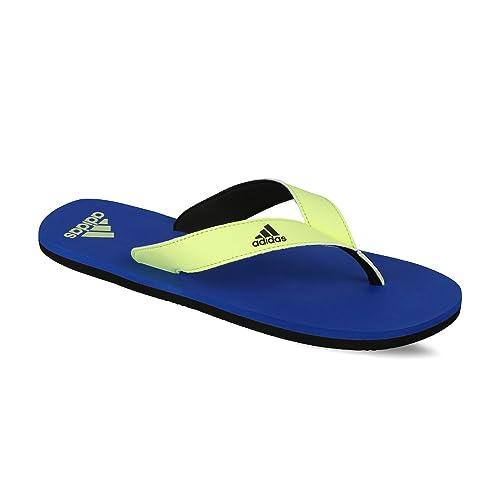 outlet store ab9f6 d3de0 Adidas Mens Eezay Max Out Men Croyal, Cblack and Ltflye Flip-Flops and  House