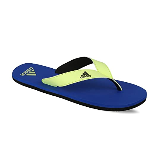 5f34f0fe19fe1b ADIDAS EEZAY MAX OUT BLUE SLIPPERS price at Flipkart