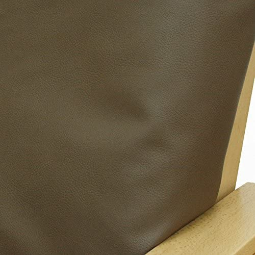 Faux Leather Peacan Futon Cover Queen 296