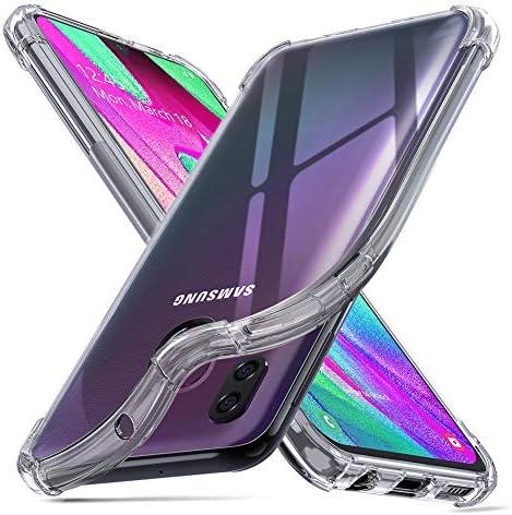 ORNARTO Funda Samsung A40,A40 Carcasa Silicona Transparente ...