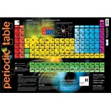 Laminated Periodic Table Educational Chart Mini Poster 60x40cm