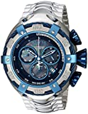 Invicta Men's 'Bolt' Swiss Quartz Stainless Steel Casual Watch, Color:Silver-Toned (Model: 21343)