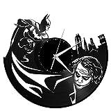 VinylShopUS – Batman Joker Vinyl Wall Clock Movie Theme Vintage Room Decor Review
