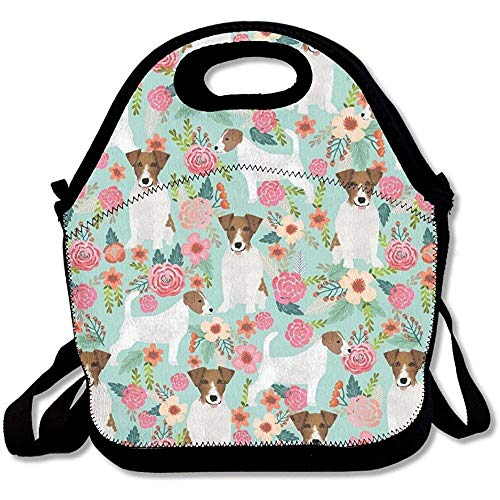 Flyss Jack Russell Terrier Lunch Bag Fashion Gorgeous For Mens