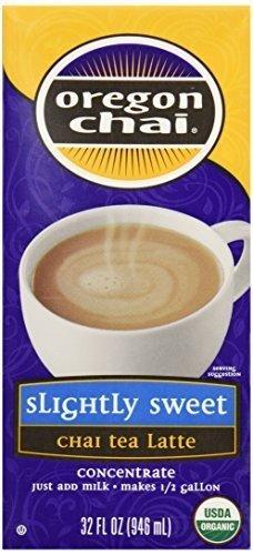 OREGON CHAI TEA CHAI SLGHT SWEET, 32 FO, PK- 6 by Oregon Chai