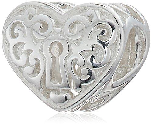 Chamilia Heart (Chamilia Keyhole Heart Bead Charm)