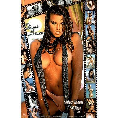 Dana Hamm, Sexiest Women Alive, Collage, Photo Print Poster