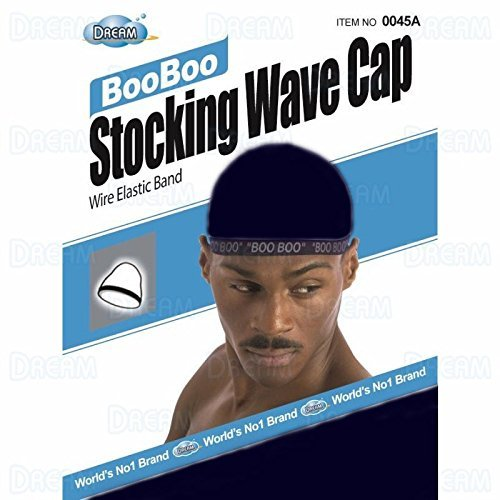 Boo Cap (Dream, Boo Boo STOCKING WAVE CAP, Wire Eastic Band (Item #045 Navy) by Dream)