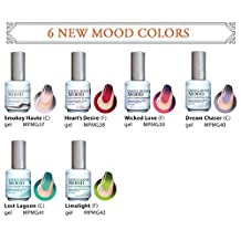 Perfect Match Mood Changing Gel Nail Polish 6 Colors Set (MG37 - MG42) by LeChat