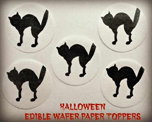 24 Edible Decorative Wafer Paper Cake Toppers© Small 1.5