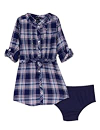 Nautica Rayon - Camisa para niña