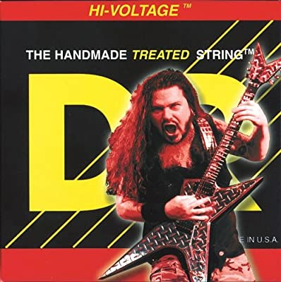 DR Strings Electric Guitar Strings, Dimebag Darrell Signature, Treated Nickel-Plated, 9-46 by DR Music