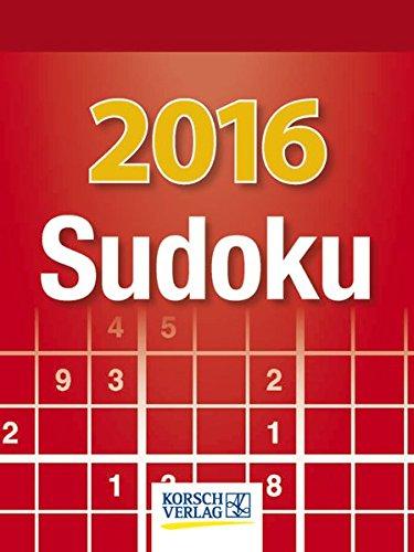Sudoku 2016: Tages-Abreisskalender