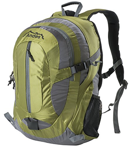 Hiking Andes Olive Large School Travel Rucksack Camping Backpack 35 Bag Litre qYTZO