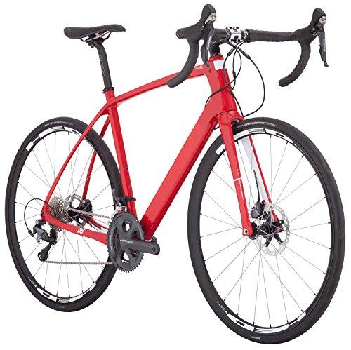 Diamondback Bicycles Century 5 Carbon Road Bike, 58cm/X-Large, Red