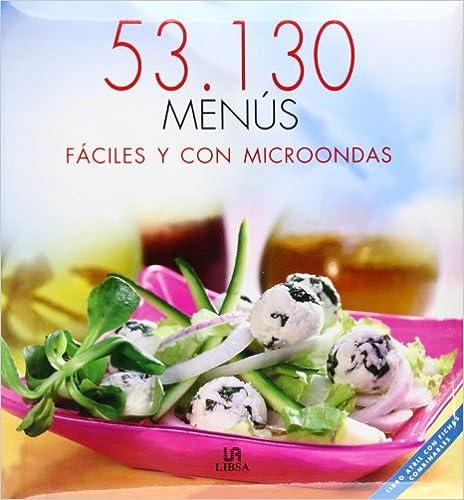 53.130 MENUS FACILES CON MICROONDAS