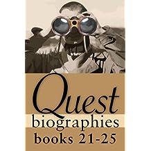Quest Biographies Bundle — Books 21–25: Louis Riel / James Wilson Morrice / Vilhjalmur Stefansson / Robertson Davies / James Douglas
