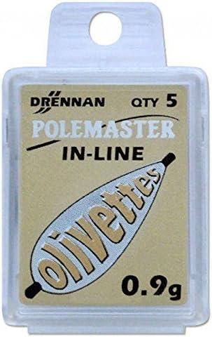 Drennan PoleMaster Gravierte Inline-Olivettes alle Gewichte