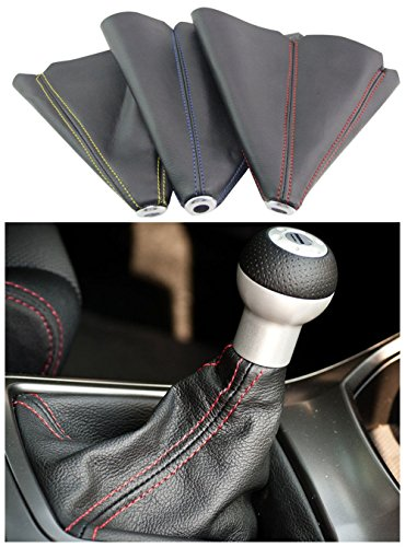 PVC Shift Boot for Manual Automatic Car/Auto Gear Shift Knob Cover MT/AT Universal Type(Blue)