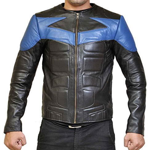 Nightwing Danny Shepherd Dick Grayson Costume Leather (Nightwing The Series Costume)
