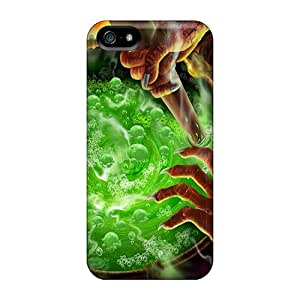 Iphone Case - Tpu Case Protective For Iphone 5/5s- Brewing A Happy Halloween