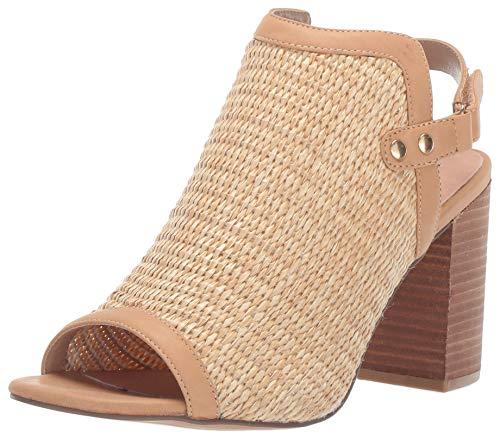 STEVEN by Steve Madden Women's Sweep Heeled Sandal, Natural Multi, 6 M US ()
