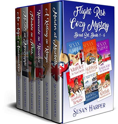 Flight Risk Cozy Mystery Boxed Set: Books 1 - 6