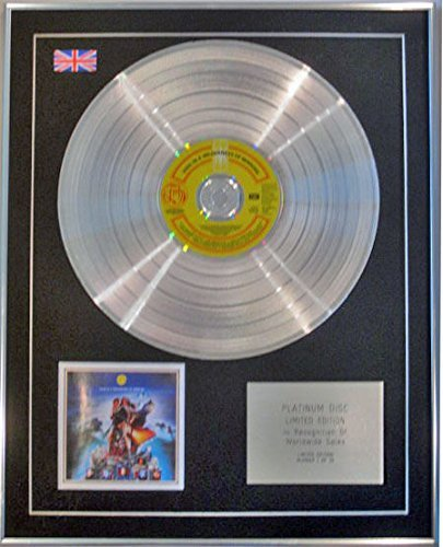 FISH(Marillion) - Limited Edition CD Platinum Disc- VIGIL IN A WILDERNESS OF - Mirror Plain Wilderness
