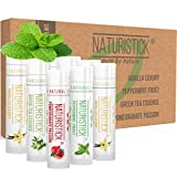 8-Pack Lip Balm Gift Set by Naturistick. Assorted