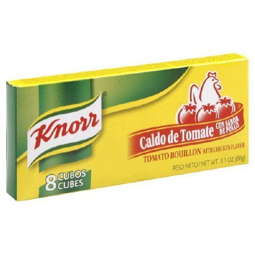 Knorr Tomato Bouillon with Chicken Flavor - 3.1 oz. (Pack of 12)