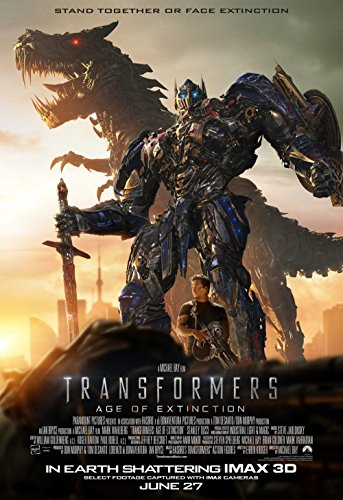 Alexander Transformers 4 Age Of Extinction 2014 Movie Silk Cloth Poster 36 X 24inch ()