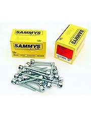 (25) Sammys 3/8-16 x 3 Threaded Rod Hanger for Wood 8010957