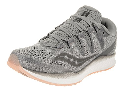 Saucony Women's Freedom ISO 2 Running Shoes Grey/Pea