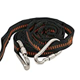 XL Hammock Straps(2 Pack),Kany Hammock Straps Hanging Kit for Trees With Climber-rated Wiregate Carabiners Strong Heavy Duty Adjustable Suspension with 16 Loops Each Lightweight With Carry Bag(Orange)