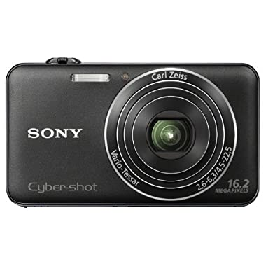 Sony Cyber-shot DSC-WX50 16.2 MP Digital Camera with 5x Optical Zoom and 2.7-inch LCD  (Black) (2012 Model)
