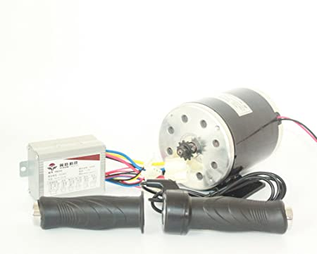 Amazon.com : L-faster 24V36V48V 500W Electric Motor Brushed ...