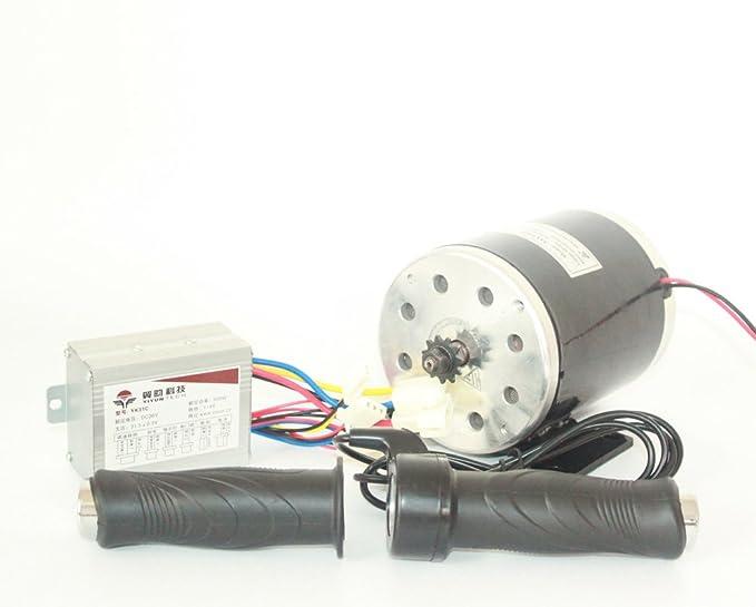 Amazon.com: 24 V36 V48 V 500 W Motor Eléctrico DC Motor Kit ...