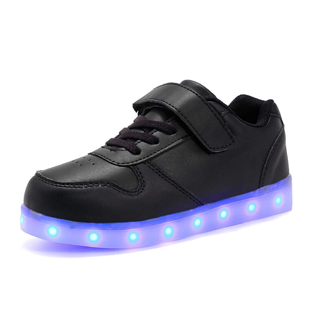 Wildfire Vine Scarpe LED Bambini Bambina 7 Colore USB Carica Sneaker Scarpe  Unisex Bambino Scarpe con 9d624d5285d