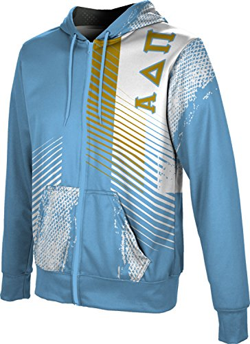 (ProSphere Alpha Delta Pi Men's Zipper Hoodie, School Spirit Sweatshirt (Hustle) B8774)