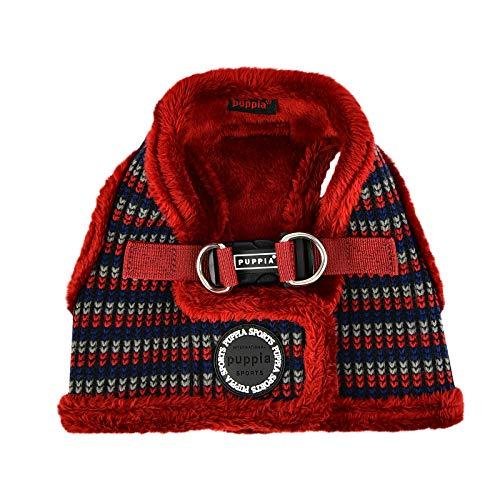Puppia Elliott Vest Harness B (Medium, Wine)