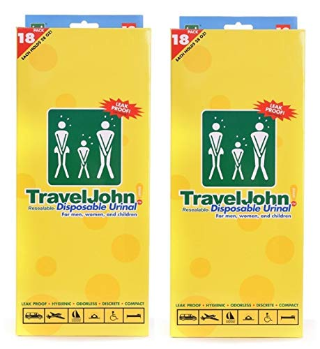 Travel John Disposable 36 Urinals